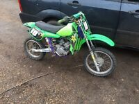 Kawasaki kx 60 ideal first motocross bike £500