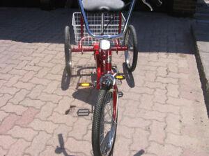 "Bike, Trailmate Desoto Classic 3 wheel tricycle, 20"" tires"