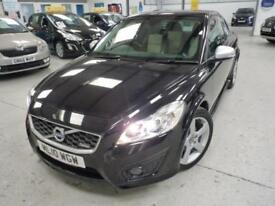 Volvo C30 D DRIVE R-DESIGN + 9 SERVICES + £30 TAX + 2 KE
