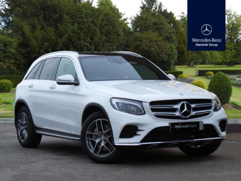 2015 mercedes benz glc class glc diesel estate glc 220d amg line diesel white a in blackpool. Black Bedroom Furniture Sets. Home Design Ideas