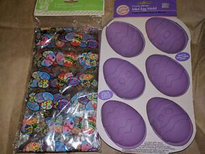 Easter baking mold and bags