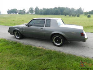 """""""Still Available"""" RARE 1:18 die cast Grey 1987 Buick T-Turbo-T"""