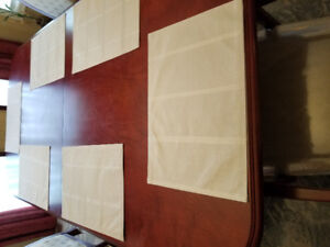 Dining table with 6 chairs and China cabinet for sale