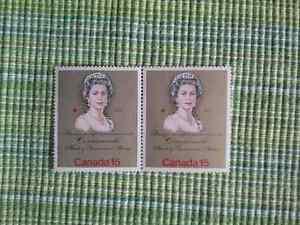 Timbres canada - Paire de timbres de 15c