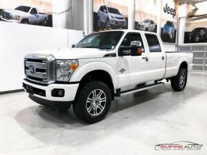 Ford F-350 PLATINUM DIESEL 172'' LONG 2015