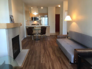 $2450/month Stunning Exec Coal Harbour 1 BR Condo w Views