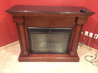 Large Twin Star Electric Fire Place