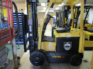 2010 Hyster Electric Forklift 5000Lb capacity