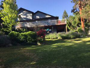 Family Home in Naramata on 1/2 acre lot for sale