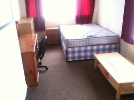 City Centre - Large clean double room fully furnished friendly house with private garden