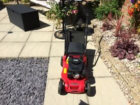Mountfield SP414 petrol lawnmower with RS100 engine