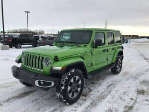 2019 Jeep Wrangler Unlimited Sahara  -  Uconnect