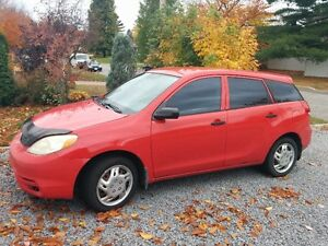 2003 Toyota Matrix Berline