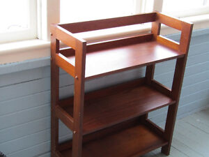 STRONG BOOKCASE / VICTORIAN CHAIR / ART DECO STOOL