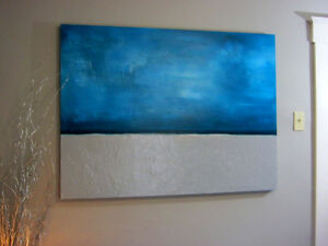 Modern Abstract Canvas painting
