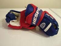 Hespeler GX50 Kids Hockey Gloves, Boys size 9 inch
