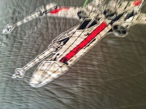 Awesome Pottery Barn Kids Star Wars Quilt set - like new- Queen Kitchener / Waterloo Kitchener Area image 4
