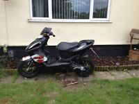 Two 50cc Aerox scooters needs work