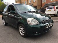Toyota, Yaris, 1.4 D4D, TSprit, 2003, Manual, Diesel, 3 Door Hatchback, Green, 1 Owner From New