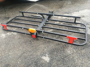 rear hitch cargo carrier