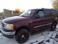 2000 Ford Expedition XLT SUV, Crossover