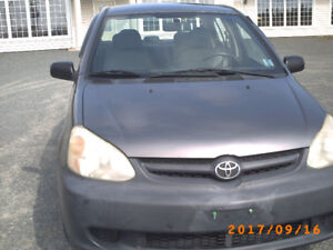 2004 Toyota Echo Sedan MVI 2019