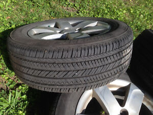 Bridgestone Ecopia P205/60R16 with Alum Alloy Rims West Island Greater Montréal image 1