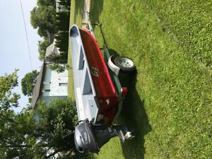 Boat, motor, trailer pkg