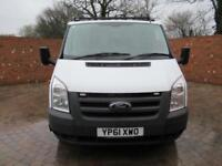 FORD TRANSIT 350 DOUBLE CAB ONE WAY TIPPER LWB 115 BHP CAGE TIPPER 6 SEATS