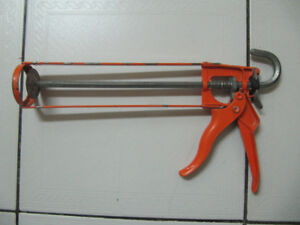 Classic Cox Solid Steel Frame Caulking Gun Made In England 1980s