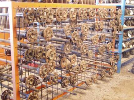 100'S OF OLD HOLDEN AXLES $55 EACH POSTAGE AUSTRALIA WIDE 6 8