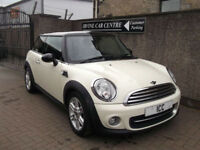12 62 MINI COOPER SPORT CHILLI 1.6 3DR BLUETOOTH LEATHER SPORTS SEATS BLACK ROOF