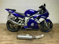 Yamaha YZF R6 5EB 2000 SUPERSPORT HPI CLEAR GREAT RUNNER NEW MOT RIDES GREAT