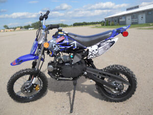 BRAND NEW KIDS 125 cc DIRT BIKE only $899.00 (SUMMER SPECIAL)