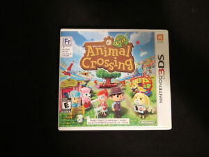 3DS games: Animal Crossing New Leaf, Super Mario 3D Land