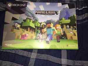 A still sealed Xbox one minecraft bundle