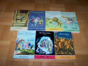 Chronicles of Narnia 7 softcover Books Set Collection C S Lewis