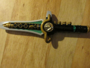 Bandai POWER RANGERS Dragon Dagger Sword Flute Toy Cosplay G1