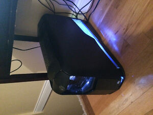 Alienware gaming computer with upgrades and hookups