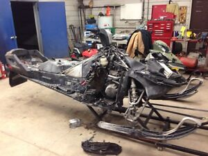 PARTING OUT SKI DOO XR AND XS 1200 SNOWMOBILES