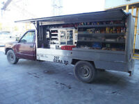 CATERING TRUCK ROUTE AND TRUCK