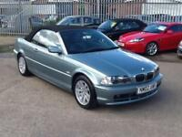 BMW 320 Ci CONVERTIBLE - 2002 - LONG MOT - BARGAIN -