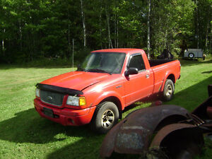 2001 Ford Ranger motor and transmission