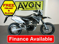 125cc Supermoto Motard Motorcycle Enduro Motorbike Superbyke RMR *FINANCE*