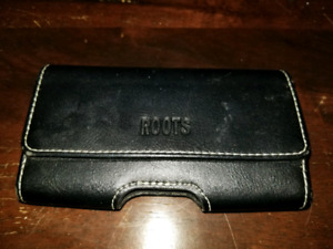 ROOTS Leather Phone Case