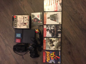Ps2, system and games. Plus a couple ps1 games.
