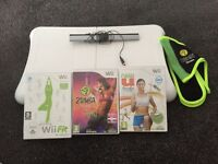 Wii fit with 3 DVDs