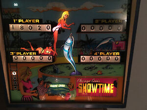 Showtime PINBALL was produced by Chicago Coin Machine Co 1974. Kitchener / Waterloo Kitchener Area image 3