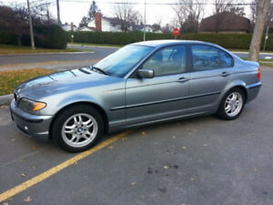 2005 BMW 320i Sedan (e46, 2.2L, 6-cyl, Manual)