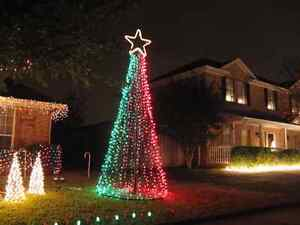 Free holiday/special event lighting or window painting quote Kingston Kingston Area image 5
